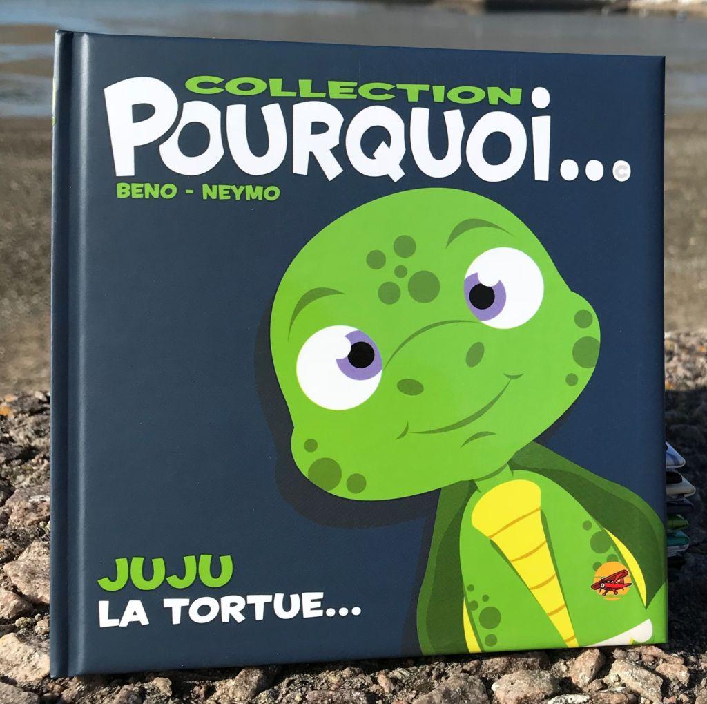 Juju la tortue livre pour tout-petit